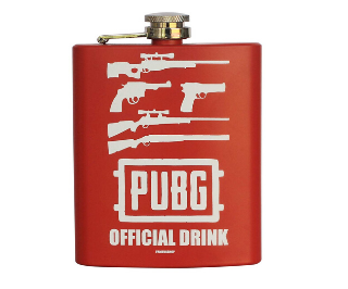 PUBG Themed Alcohol Flask