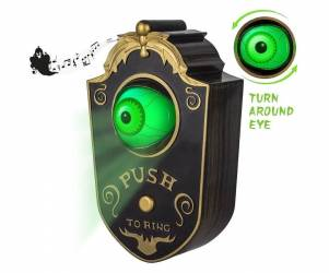 Animated Eye Halloween Doorbell