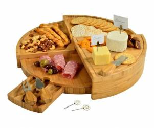 Foldable Cheeseboard and Serving Platter