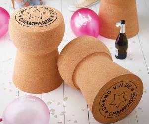 Giant Champagne Cork Seat