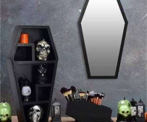 Gothic Coffin Shelf