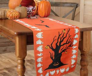 Halloween Themed Table Cloth