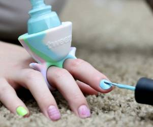 Nail Polish Bottle Holder Ring