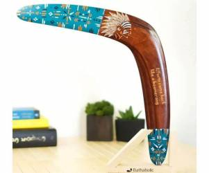Native American Wooden Boomerang