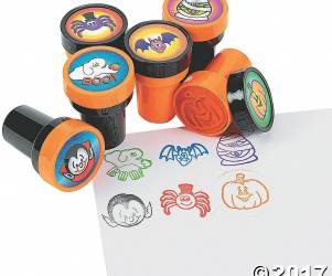 Pack of Spooky Stamps