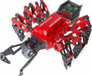 Robotic Spider with IR Remote Control