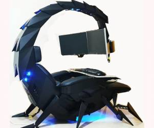 Scorpion Zero-Gravity Computer Cockpit