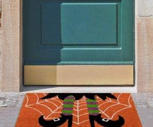 Switch Witch Welcome Mat