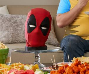 Talking Deadpool Head