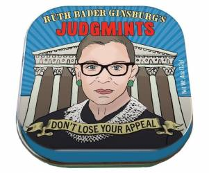 Tin of RBG Judg(Mints)
