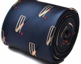 Cricket-Themed Tie