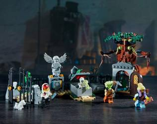 Lego Graveyard with Augmen...