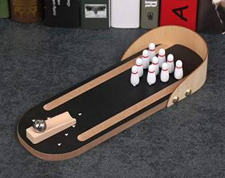 Mini Bowling Ball Board