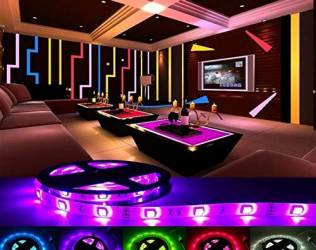 Multicolour Remote LED Lights