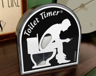 Quirky Toilet Timer