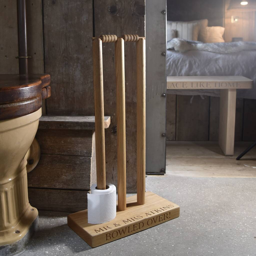 Wicket Loo Roll Holder
